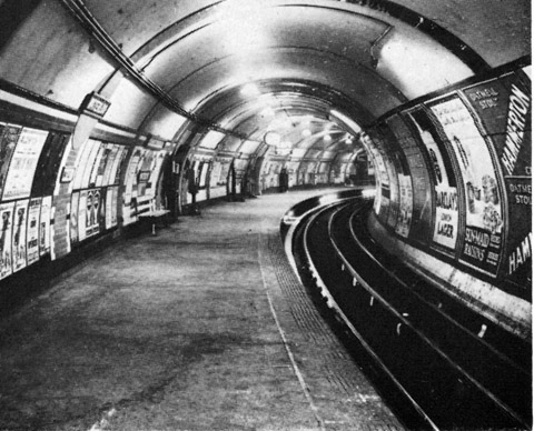 Waterloo 1923 showing edge lighting